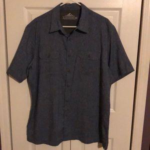 Croft & Barrow Blue Denim Like Shirt NWT Size L